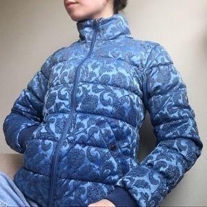 VINTAGE Guess Brocade Puffy Jacket
